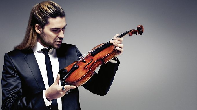 Herr der Ringe und der Geigen: David Garrett und sein Liebling.
