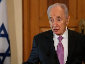 Peres: Die Welt ist gegenüber Israel in der Pflicht.