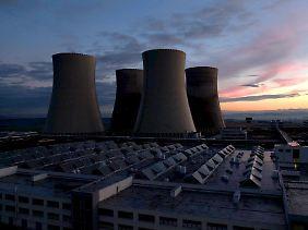 Das Atomkraftwerk Temelin.