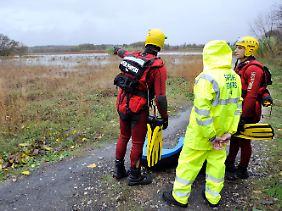 Bei einem schweren Unwetter in Südfrankreich stirbt ein Deutscher im Fluss  Herault.