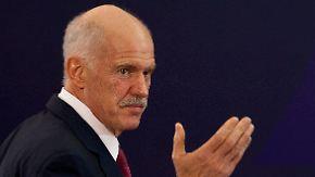 Regierungskrise in Griechenland: Papandreou steht offenbar vor Rücktritt