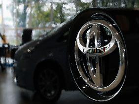 In schwerem Fahrwasser: Toyota.