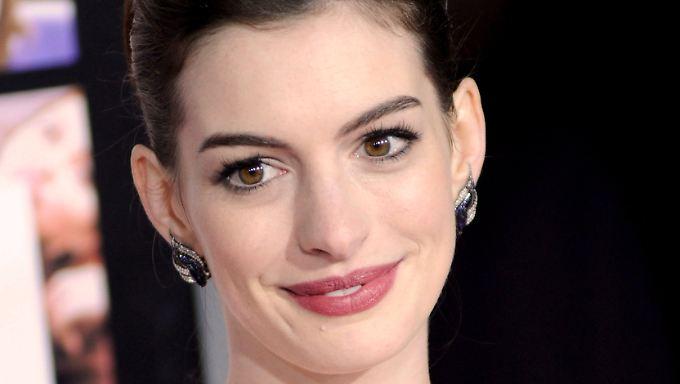 Bodenständig und selbstbewusst: Anne Hathaway.