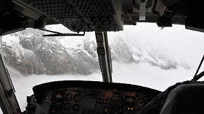 Keine Sicht am Mont Blanc: Rettungsversuche scheitern