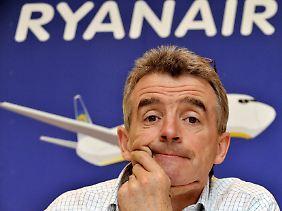 Da hat Ryanair-Chef O'Leary was Tolles eingeführt.