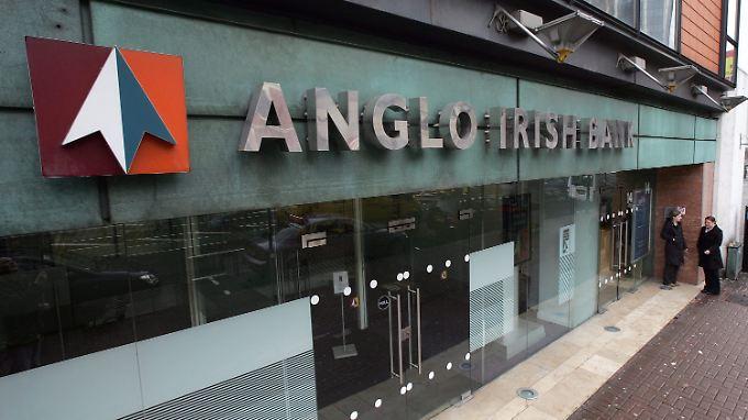 Schlimmstes Stammtischniveau bei der Anglo Irish Bank
