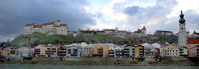 Die nun offiziell längste Burganlage der Welt in Burghausen.