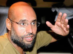 Saif al-Islam im August diesen Jahres.