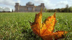 2011 war der September spürbar wärmer als in anderen Jahren.