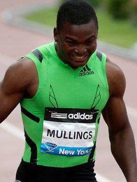 Aus die Maus: Steve Mullings.