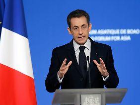 Sarkozy will sich mit Merkel verbünden.