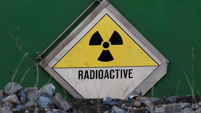 Im Keller der finnischen Atomaufsichtsbehörde ist eine Firma ansässig, die schwach-radioaktive Abfälle behandelt. (Archivbild)