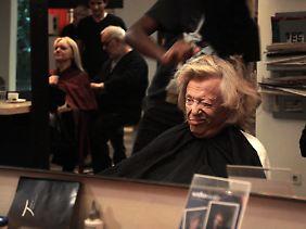 Wer schön sein will muss manchmal leiden: Eden bei Star-Friseur Udo Walz.