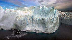 Bei der Fläche des arktischen Meereises wurde im Juli ein neuer  Negativrekord verzeichnet.