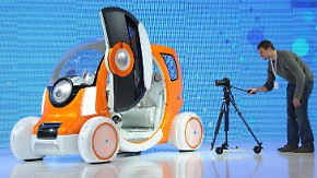Peppig und optimistisch: Japan zeigt Autos der Zukunft