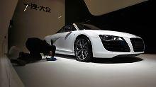 Der R8 Spyder von Audi: Die VW-Tochter ist einer der weltweit erfolgreichen deutschen Autokonzerne.
