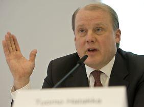Tuomo Hatakka spricht von einem herben Rückschlag.