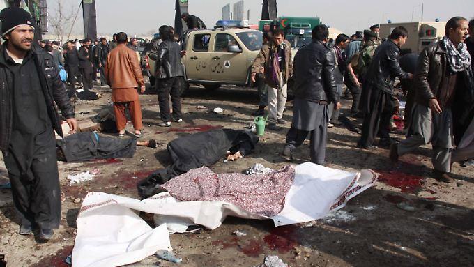Zahlreiche Menschen starben direkt durch die Explosion.