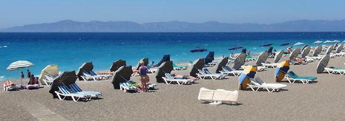 Griechenland kann seine Gäste schon entzücken.