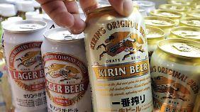 Die Kirin Brauerei mischt auch kräftig im Whisky-Geschäft mit.