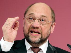 Martin Schulz dürfte im Januar zum EU-Parlamentspräsidenten gewählt werden.