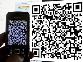 Digital ist besser: Das charakterische Muster der QR-Codes taucht immer häufiger auf.