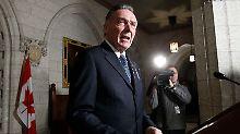 Kanadas Umweltminister Peter Kent erklärt den Ausstieg aus dem Kyoto-Protokoll.