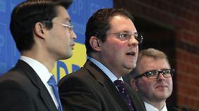 Der neue Generalsekretär Döring will mit der FDP wieder punkten.