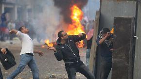 Tote und Verletzte in Kairo: Blutige Straßenkämpfe halten an