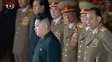 Nun Oberbefehlshaber der nordkoreanischen Armee: Kim Jong Un.