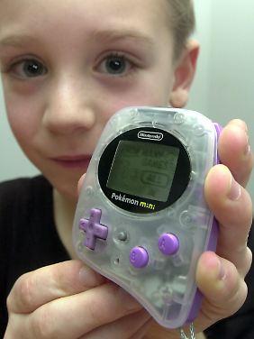Kinder mögen elektronisches Spielzeug.