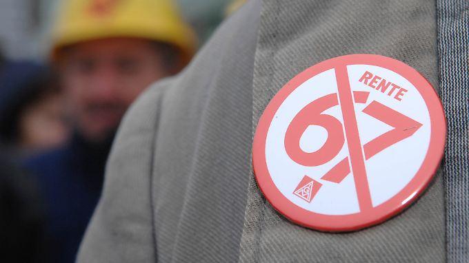 Trotz finanzielle Einbußen: Immer mehr gehen früher in Rente