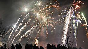 Sturm trübt Feuerwerk in Neuseeland: Die Welt feiert Silvester
