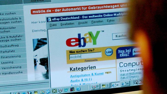 Bezahlen im Internet: PayPal treibt Ebay an