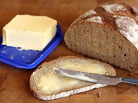 Stillleben mit Brot.