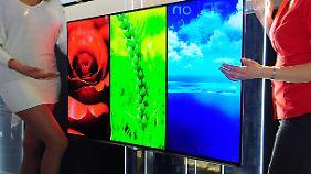 Erster großer OLED-Bildschirm für den Massenmarkt: LGs 55EM9600