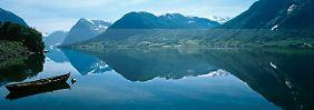 Der Jolster See in Norwegen: Natur pur.