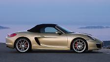 Ade, Friseusen-Porsche: Zuffenhausen präsentiert neuen Boxster