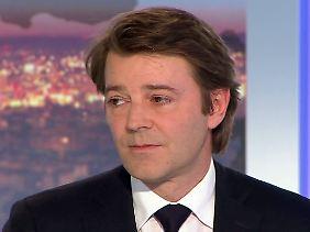 Zuständig für Wirtschaft und Finanzen: François Baroin bestätigt im TV das, was viele Franzosen als große Schmach empfinden.