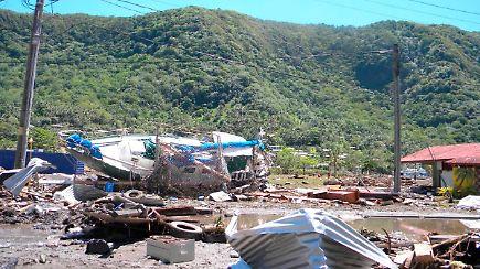 Coconuts Beach Resort Samoa Tsunami