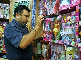 Barbie-Puppen dürfen in Teheran nicht verkauft werden.