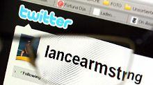 Der Twitter-Blog von Radprofi Lance Armstrong hat mehr als zwei Millionen Leser.