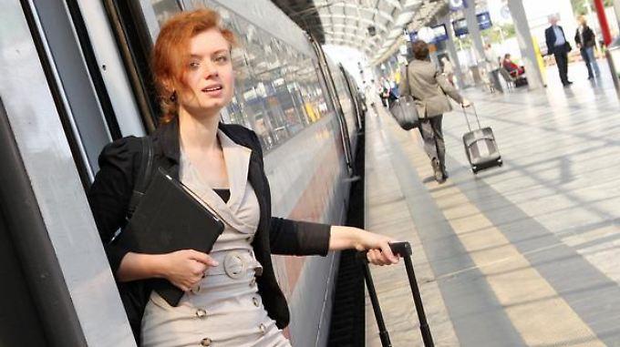 Die günstige Variante wählen: Wer mit der Bahn zum Bewerbungsgespräch kommt, bekommt nur eine Fahrt in der zweiten Klasse erstattet.