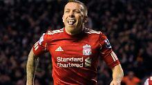 Treffer zum Ausgleich: Liverpools Craig Bellamy feiert.