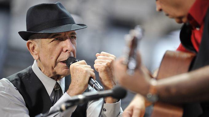 Leonard Cohen hat ein neues Album aufgenommen.