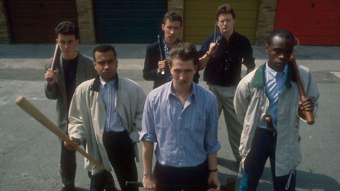 Bex und seine Jungs von der ICC.