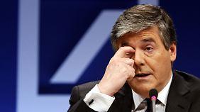 Deutsche Bank schreibt rote Zahlen: Ackermann misslingt der Abgang