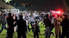 Tödliche Fußballkrawalle in Ägypten: Fans machen Militärrat verantwortlich