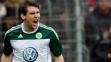 Helmes, wieder willig in Wolfsburg: Stürmer von Magaths Gnaden