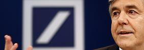 Deutsche-Bank-Chef Josef Ackermann: Er mag und kann seinen Abschied nicht zelebrieren.